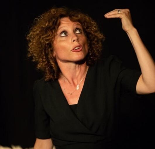 Stéphanie Jarroux sur scène
