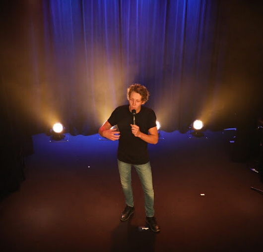 Kevin Robin en tournée