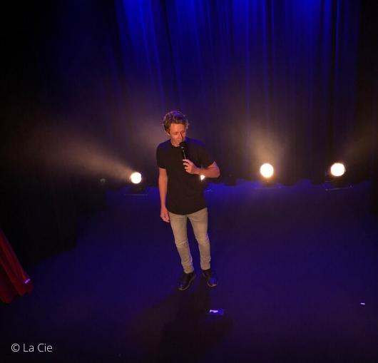 Kevin Robin sur scène