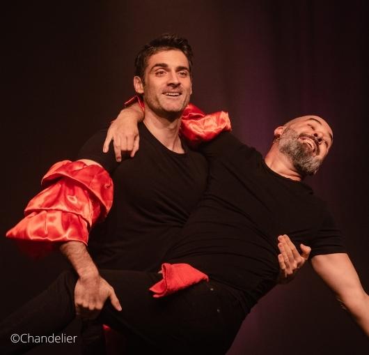 Gil Alma et benoit Joubert en tournée dans toute la France avec un spectacle d'humour.